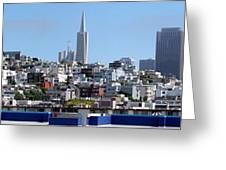 San Francisco Panorama Greeting Card