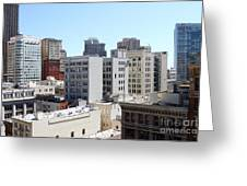 San Francisco Skyline . 7d7490 Greeting Card