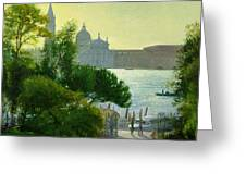 San Giorgio - Venice  Greeting Card