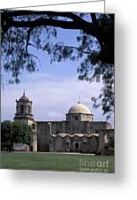 San Jose Mission San Antonio Texas Greeting Card