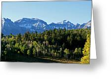 San Juans Colorado Greeting Card