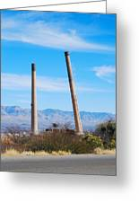 San Manuel 6 Greeting Card by T C Brown