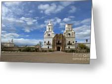 San Xavier Del Bac Tucson Greeting Card