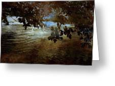 Sanctuary By The River Greeting Card