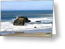 Sand And Sea 19 Greeting Card