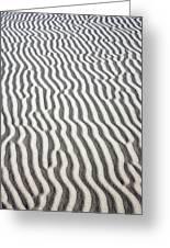 Sand Dune Pattern Greeting Card