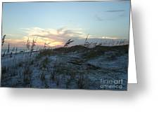 Sand Dunes Greeting Card