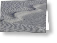 Sand Patterns 2 Greeting Card