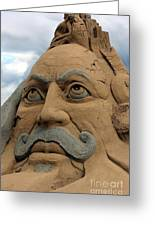 Sand Sculpture Greeting Card by Sophie Vigneault