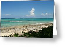 Sandals Cay Greeting Card