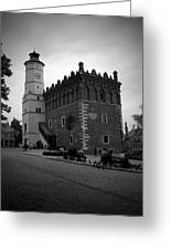 Sandomierz Bw Greeting Card
