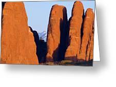 Sandstone Fins Greeting Card