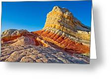 Sandstone Swirls Arizona Greeting Card