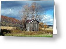Sandwiched Shed Greeting Card