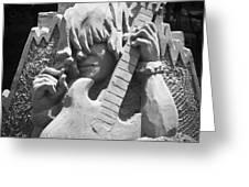 Sandy Rock Musician Greeting Card