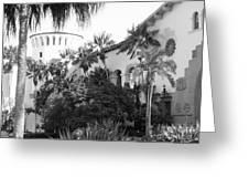 Santa Barbara Courthouse Greeting Card