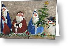 Santa Collector Greeting Card