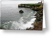 Santa Cruz Greeting Card