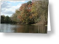 Santa Fe River Greeting Card by Sean Green
