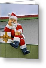 Santa Is Waiting For You Greeting Card