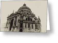 Santa Maria Della Salute Venice Greeting Card