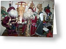 Santas Helpers Greeting Card