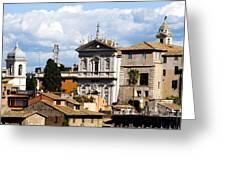 Santi Domenico E Sisto Greeting Card