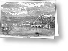 Santiago De Cuba, 1853 Greeting Card