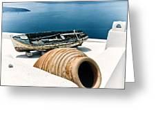 Santorini Still Life Greeting Card