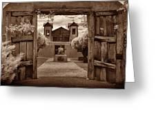 Santuario De Chimaya Greeting Card