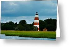 Sapelo Is. Lighthouse Greeting Card