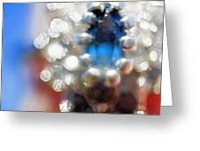 Saphire Sparkle Greeting Card