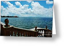 Sarasota Bay In Florida Greeting Card
