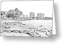 Sarasota Sketch Greeting Card