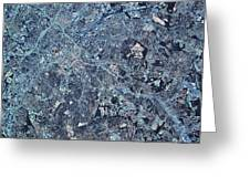 Satellite View Of Charlotte, North Greeting Card
