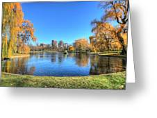 Saturday In The Park Greeting Card by JC Findley