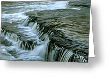 Sauble Falls Closeup Greeting Card by Chris Hill