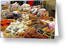 Sausages For Sale Greeting Card