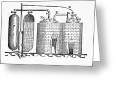 Savery's Engine Greeting Card