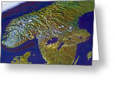 Scandinavia Greeting Card
