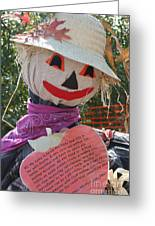 Scarecrow Andy Greeting Card