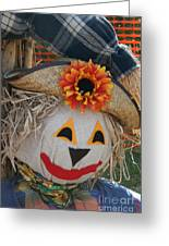 Scarecrow Annie Greeting Card