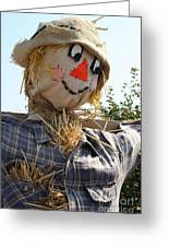 Scarecrow Farmer Greeting Card