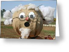 Scarecrow Gramps Greeting Card