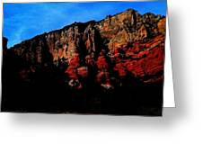 Scarlet Cliffs Greeting Card
