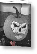 Scary Greeting Card by Juliana  Blessington