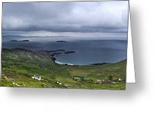 Scenery Of Dingle Greeting Card