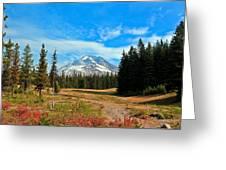 Scenic Mt. Hood In Oregon Greeting Card