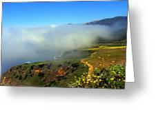 Scenic Pacific Coast Greeting Card