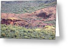 Scenic Red Rocks Greeting Card